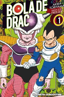 Bola de Drac Color: Saga d'en Freezer #1