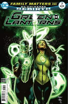Green Lanterns Vol. 1 (2016-2018) (Comic-book) #7