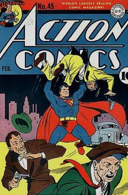 Action Comics Vol. 1 (1938-2011; 2016-) (Comic Book) #45