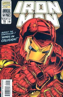 Iron Man vol. 1 Annual (1970-1994) (Comic Book) #15