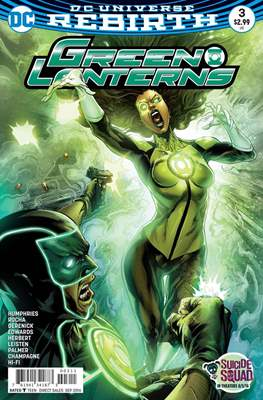 Green Lanterns Vol. 1 (2016-2018) #3