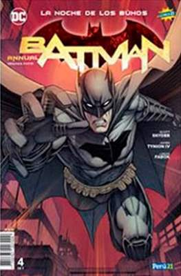 Batman: La noche de los buhos (Grapas) #4