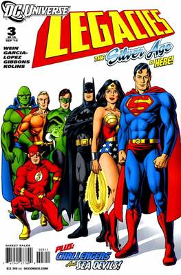 DC universe:  Legacies (Comic book) #3