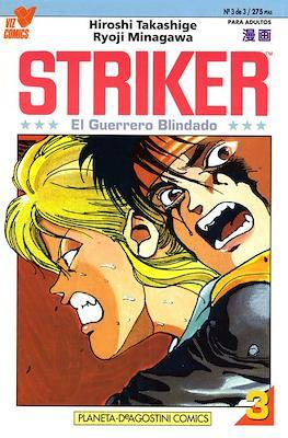 Striker, el guerrero blindado #3