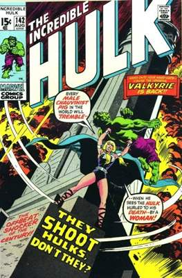 The Incredible Hulk Vol.1 (Saddle-stitched. 1962-1999) #142