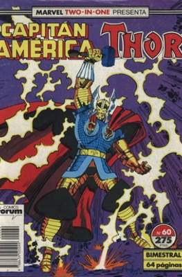 Capitán América Vol. 1 / Marvel Two-in-one: Capitán America & Thor Vol. 1 (1985-1992) (Grapa 32-64 pp) #60