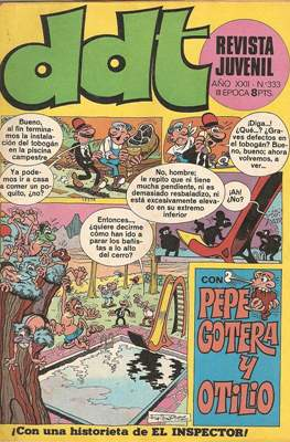 DDT (1967-1978) (Grapa) #333