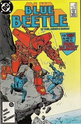 Blue Beetle Vol. 1 #15