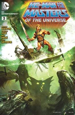 He-Man and the Masters of the Universe Vol.1 (Comic Book) #3