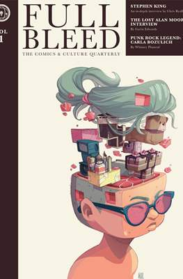 Full Bleed: The Comics & Culture Quarterly (Softcover 200 pp) #1