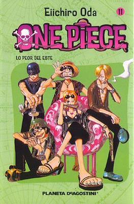 One Piece (Rústica con sobrecubierta) #11