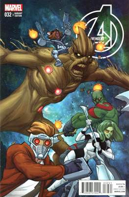 Avengers Vol. 5 (2013-2015 Variant Covers) (Comic Book) #32