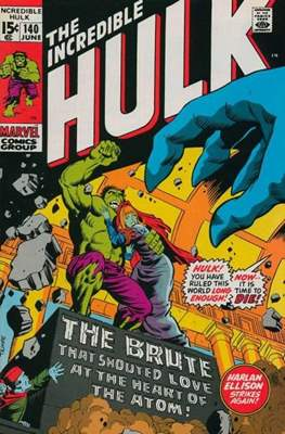 The Incredible Hulk Vol. 1 (1962-1999) (Comic Book) #140