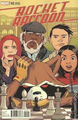 Rocket Raccoon (2016-2017 Variant Covers) (Comic Book) #2
