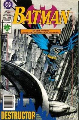 Batman Vol. 1 (Grapa. 1987-2002) #218
