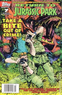Return To Jurassic Park (Comic Book) #7