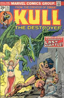 Kull the Conqueror / Kull the Destroyer (1971-1978) (comic-book) #15