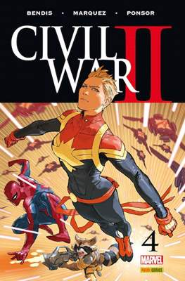 Civil War II (2016-2017) (Grapa. Color) #4