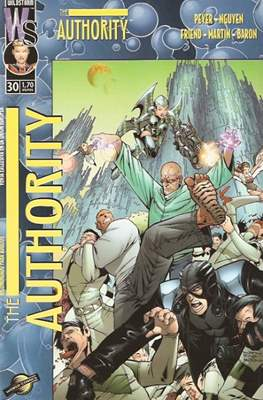 The Authority Vol. 1 (2000-2003) (Grapa 28 pp) #30