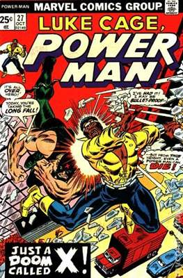 Hero for Hire / Power Man Vol 1 / Power Man and Iron Fist Vol 1 (Comic Book) #27