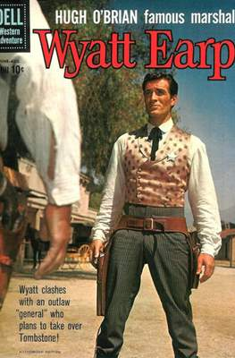 Hugh O'Brian Famous Marshal Wyatt Earp (Comic Book) #11