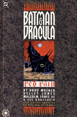 Batman & Dracula Red Rain
