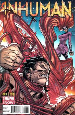 Inhuman (2014-2015 Variant Cover) (Comic Book) #3