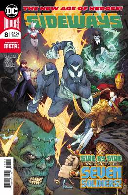 Sideways (Comic Book) #8