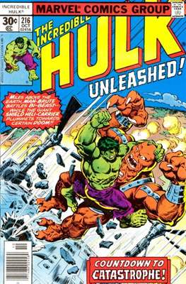 The Incredible Hulk Vol. 1 (1962-1999) (Comic Book) #216