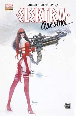 Elektra Asesina. Marvel Graphic Novels
