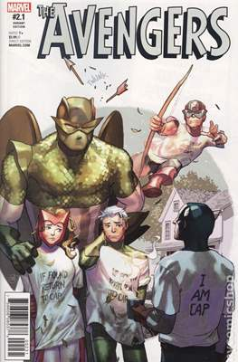 The Avengers Vol. 7 (2016-...Variant Covers ) (Grapa) #2.4