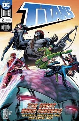 Titans Vol. 3 Annual (2017-) (Comic book) #2
