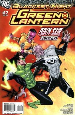 Green Lantern Vol. 4 (2005-2011) (Comic book) #47
