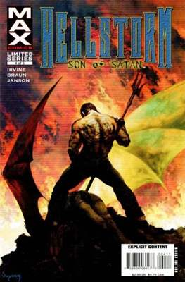 Hellstorm. Son of Satan (Comic Book) #4