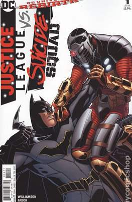 Justice League vs Suicide Squad. Variant Covers