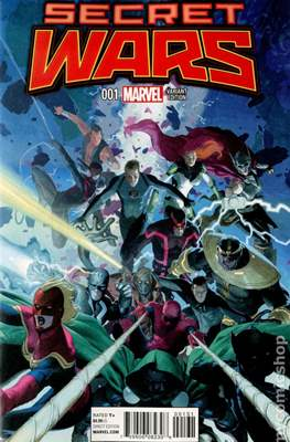 Secret Wars (2015) Variant Covers (Comic Book) #1.2