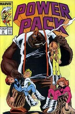 Power Pack (1984-1991; 2017) (Grapa) #32