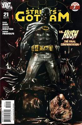 Batman: Streets of Gotham (2009-2011 Saddle-stitched) #21
