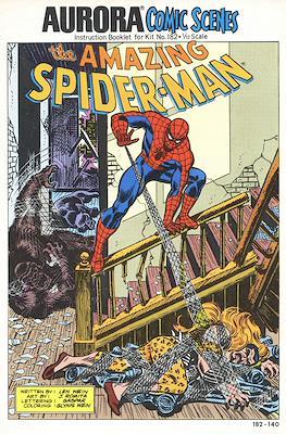 The Amazing Spider-Man Aurora Comic Scenes