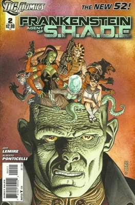 Frankenstein: Agent of S.H.A.D.E. (Comic book) #2
