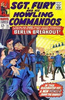 Sgt. Fury and his Howling Commandos (Comic Book. 1963 - 1974) #35