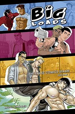 Big loads. The Class Comics Stash!