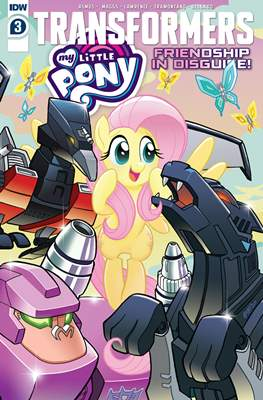 Transformers & My Little Pony: Friendship in Disguise #3