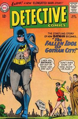 Detective Comics Vol. 1 (1937-2011; 2016-) (Comic Book) #330