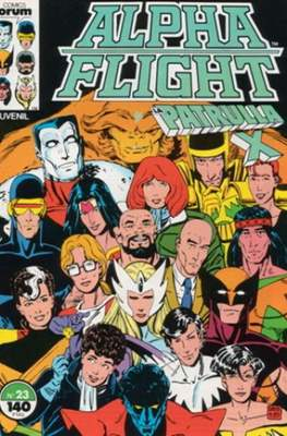 Alpha Flight vol. 1 / Marvel Two-in-one: Alpha Flight & La Masa vol.1 (1985-1992) (Grapa 32-64 pp) #23