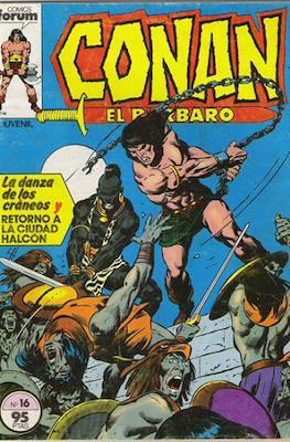 Conan el Bárbaro (1983-1994) (Grapa. 19x27. 36/32/24 páginas. Color.) #16