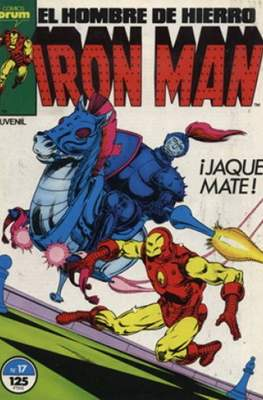 Iron Man Vol. 1 / Marvel Two-in-One: Iron Man & Capitán Marvel (1985-1991) (Grapa, 36-64 pp) #17