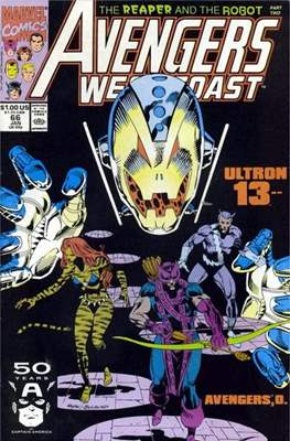 West Coast Avengers Vol. 2 (Comic-book. 1985 -1989) #66
