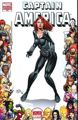 Captain America Vol. 5 (2005-2011 Variant Cover) (Comic Book) #609
