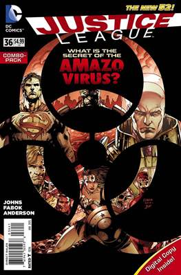 Justice League Vol. 2 (2011-2016) (Comic-Book) #36